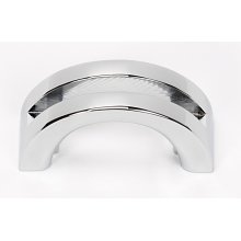 Slit Top Pull A421 - Polished Chrome