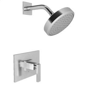 Satin Brass - PVD Balanced Pressure Shower Trim Set