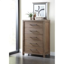 Mirabelle - Five Drawer Chest - Ecru Finish