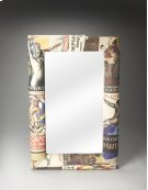 Upholstered Wall Mirror Product Image