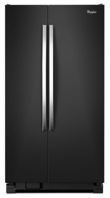 33-inch Wide Large Side-by-Side Refrigerator with Greater Capacity and Adaptive Defrost - 22 cu. ft.