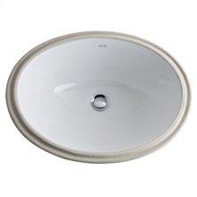 Allia Oval Undermount Lavatory Sink
