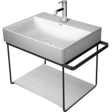 Chrome Durasquare Metal Console Wall-mounted