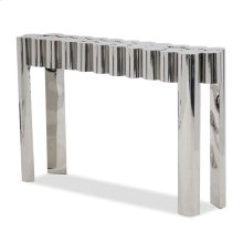 La Tania Console Table - Silver