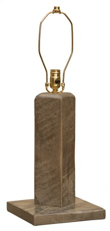 Table Lamp Without Lamp Shade, Driftwood