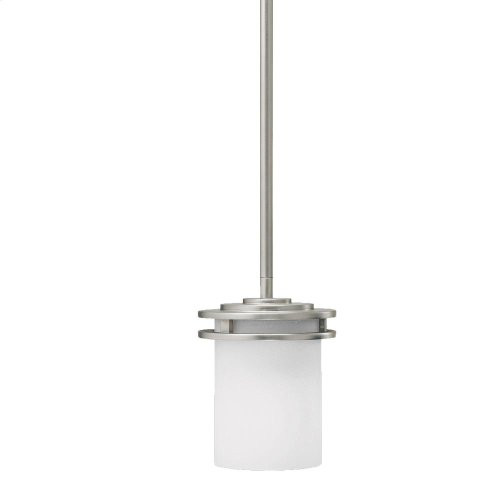 Hendrik Collection Hendrik 1 Light Mini Pendant - Brushed Nickel