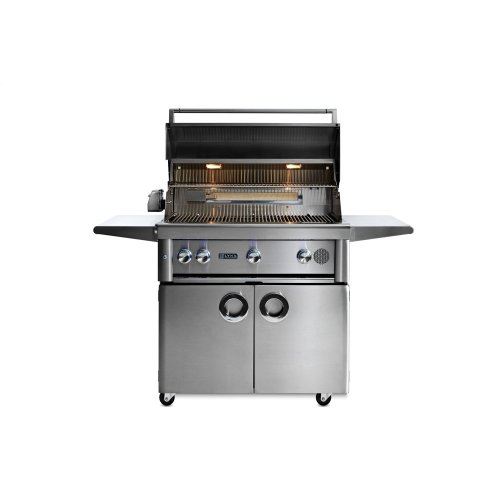 """36"""" Lynx Professional Freestanding Smart Grill with Rotisserie, LP"""