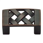 Lattice Knob 1 5/8 Inch - Venetian Bronze