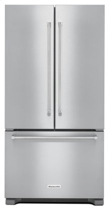 *Scatch and Dent* 22 cu. ft. 36-Inch Width Counter Depth French Door Refrigerator with Interior Dispense - Stainless Steel