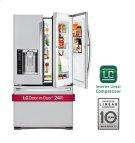 CLOSEOUT - 24 cu. ft. Large Capacity 3-Door French Door Refrigerator w/ Door-in-Door® Product Image