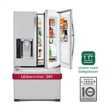 24 cu. ft. Large Capacity 3-Door French Door Refrigerator w/ Door-in-Door®