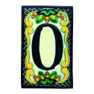House Address Number 0 in Zinnia Product Image