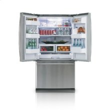25.8 cu.ft. french door refrigerator - real stainless