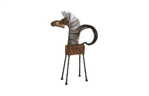 Wire Horse Sculpture, LG