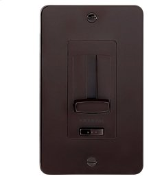 Face Plate and Trim Accessory for the 4DD or 6DD LED Driver + Dimmer Brown