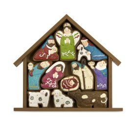 Christmas Cookie Nativity Puzzle