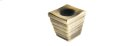 Antique Brass Forged 2 Large Cube Knob Product Image