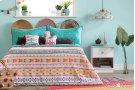 Kids Bedding set: Comforter, Pillowcase, decorative cushions and guirland Festive Llama - 54'' Product Image