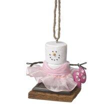 S'mores Ballerina Ornament.