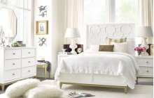 Chelsea by Rachael Ray Panel Bed Complete Twin, 3/3