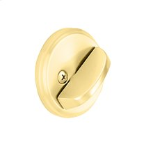 One Sided Deadbolt - Bright Brass