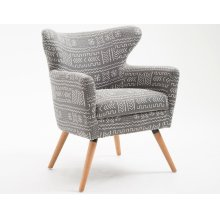 Emerald Home Janey Accent Chair Gray U3326-05-03