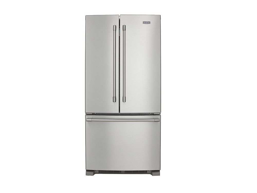 MAYTAG 33 Inch Wide French Door Refrigerator   22 Cu. Ft.