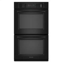 """Double Oven 27"""" Width 3.8 cu. ft. Capacity (Each Oven) Even-Heat™ True Convection System in Upper & Lower Oven Architect® Series II"""