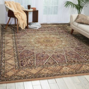 Nourison 2000 2117 Lav Rectangle Rug 2'6'' X 4'3''