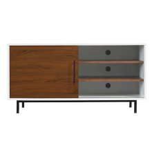 "Go ultra-modern by adding this superb TV stand for TVs up to 55"" or up to 4..."