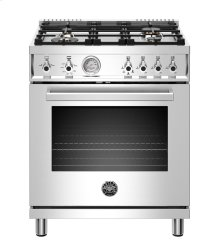 "30"" Professional Series range - Gas oven - 4 brass burners"