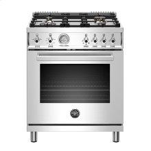 "30"" Professional Series range - Gas oven - 4 brass burners - LP version"