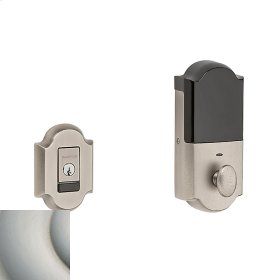 Satin Nickel with Lifetime Finish Evolved Arched Deadbolt