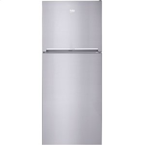 "Beko28"" Freestanding Top Freezer Refrigerator with Ice Maker and EverFresh+"