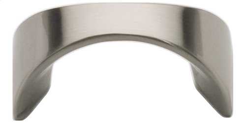 Sleek Knob 1 1/4 Inch (c-c) - Brushed Nickel