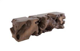 Freeform Bench Bronze