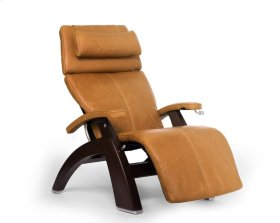 Perfect Chair PC-420 Classic Manual Plus - Sycamore Premium Leather - Dark Walnut