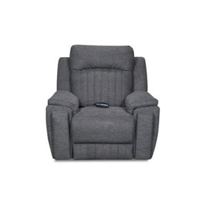 Power Headrest Console Sofa w/ Arm Cupholders