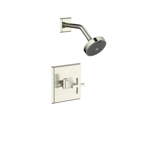 Shower Trim Leyden (series 14) Satin Nickel (1)