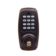 Transitional Electronic Keypad Deadbolt - Grade 2