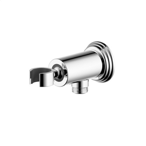 Hand Shower Wall Bracket With Outlet Darby Series 15 Polished Chrome