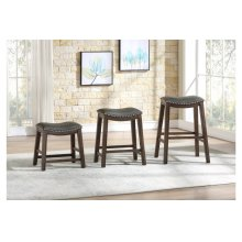 29 Pub Height Stool, Gray