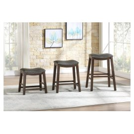18 Dining Stool, Gray