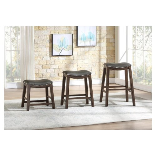 24 Counter Height Stool, Gray