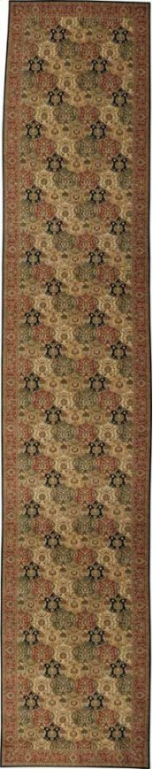 HARD TO FIND SIZES GRAND PARTERRE PT04 MULTI RECTANGLE RUG 8' x 42'