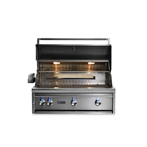 """36"""" Lynx Professional All Trident Built In Grill Rotisserie, NG"""
