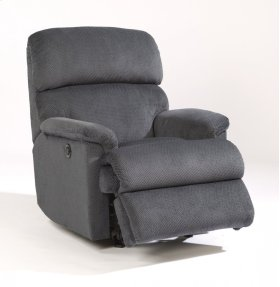Chicago Fabric Power Rocking Recliner
