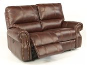 Carlton Fabric Power Reclining Loveseat