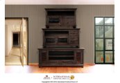 52in TV Stand w/2 drawers, 1 door - Black Finish