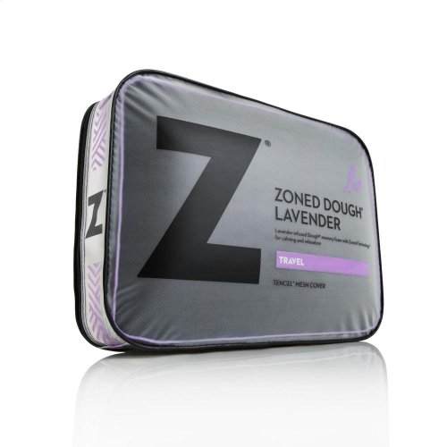 Travel Zoned Dough Lavender - Travel